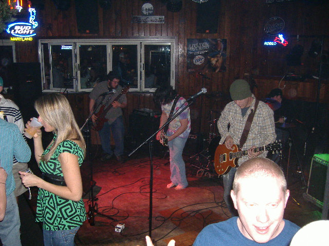 A group with lots of energy and a classic sound, The Cheaters were one band from the DC area that came down to play here.