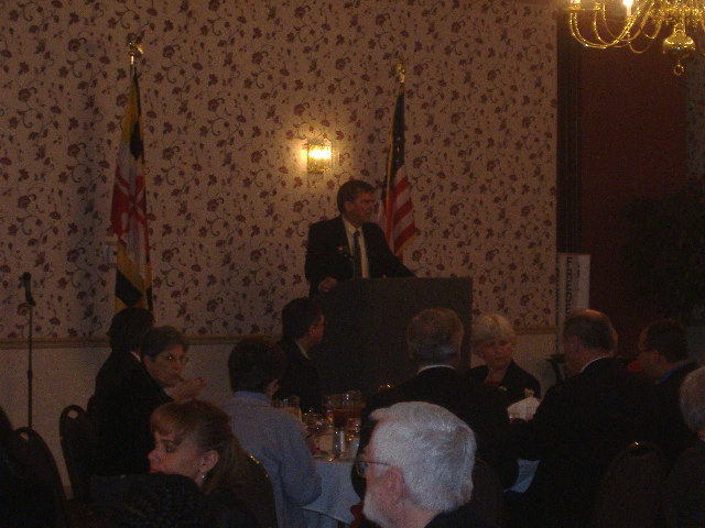 Delegate William Frank was one of our luncheon speakers.