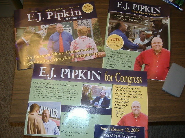 My mailbox has been bombarded with Pipkin papers this month!