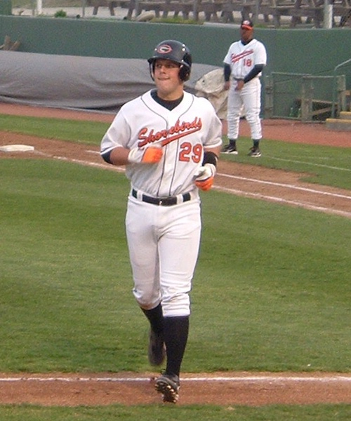 Last year's Orioles first round pick Brandon Snyder is in the midst of his initial full season as a pro.